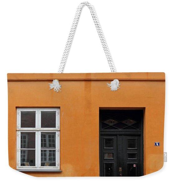 The Orange House Copenhagen Denmark Weekender Tote Bag