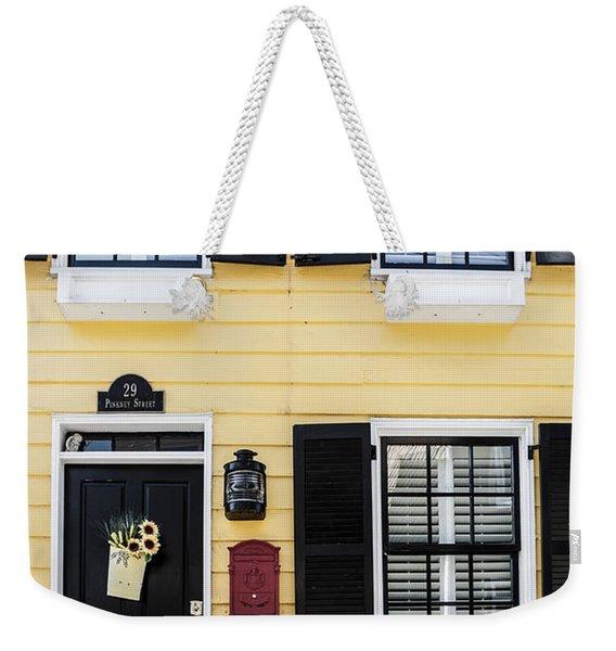 Yellow House Weekender Tote Bag