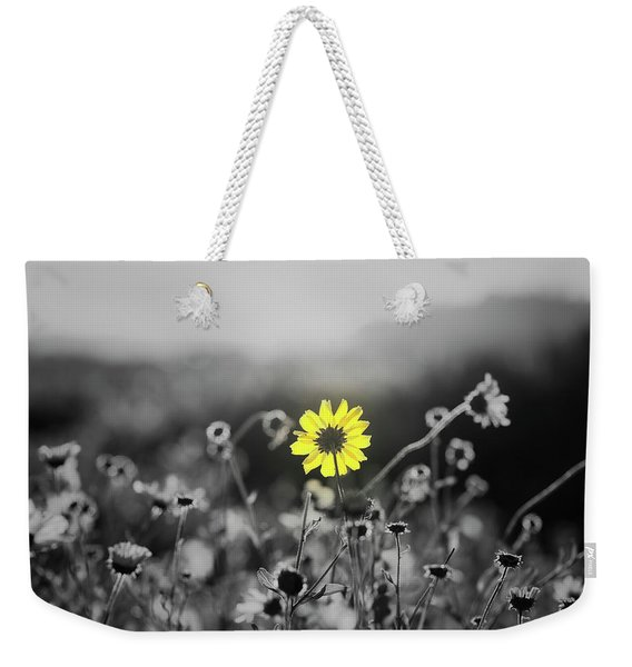 Yellow Is The Color Weekender Tote Bag