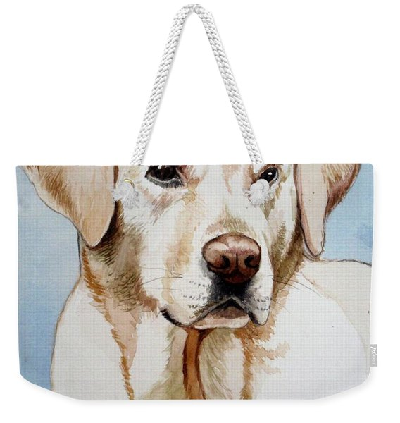 Yellow Lab Weekender Tote Bag