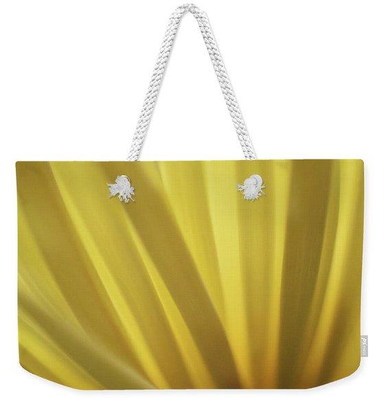 Yellow Mum Petals Weekender Tote Bag
