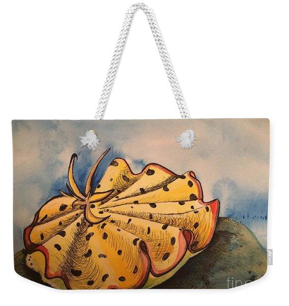 Yellow Nudibranch Weekender Tote Bag