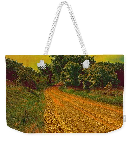 Yellow Oz Road Weekender Tote Bag