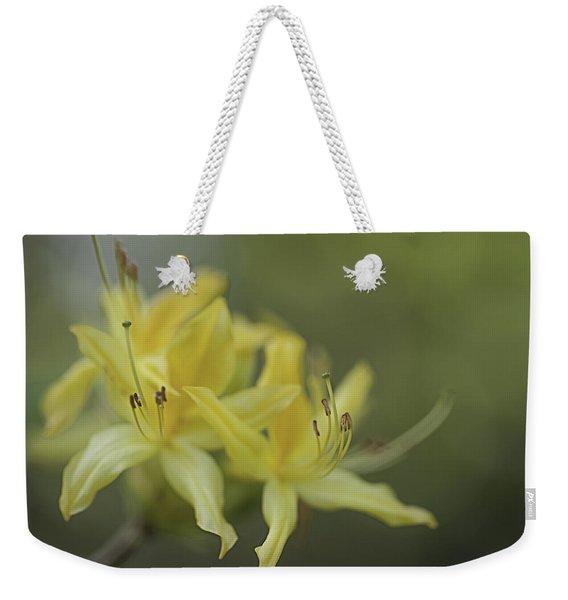 Yellow Rhodo Weekender Tote Bag