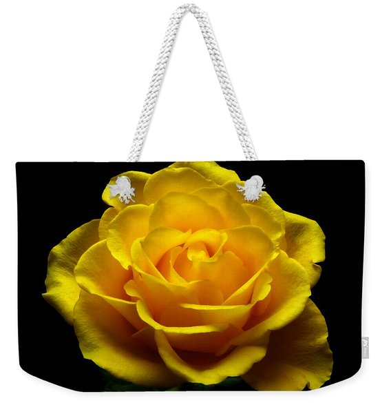 Yellow Rose 4 Weekender Tote Bag