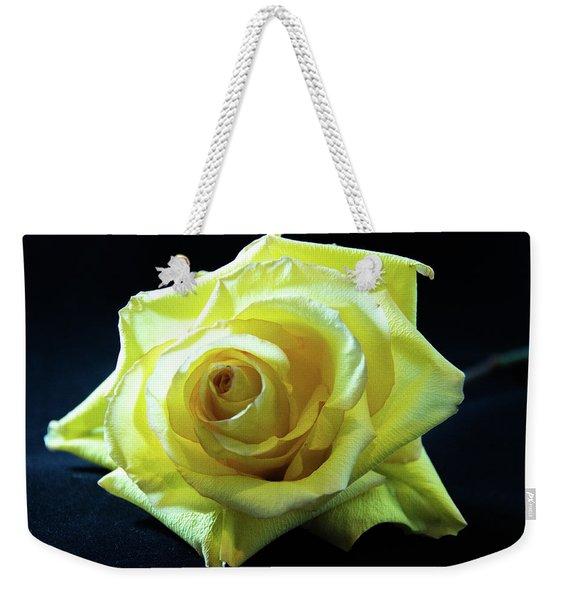 Yellow Rose-7 Weekender Tote Bag
