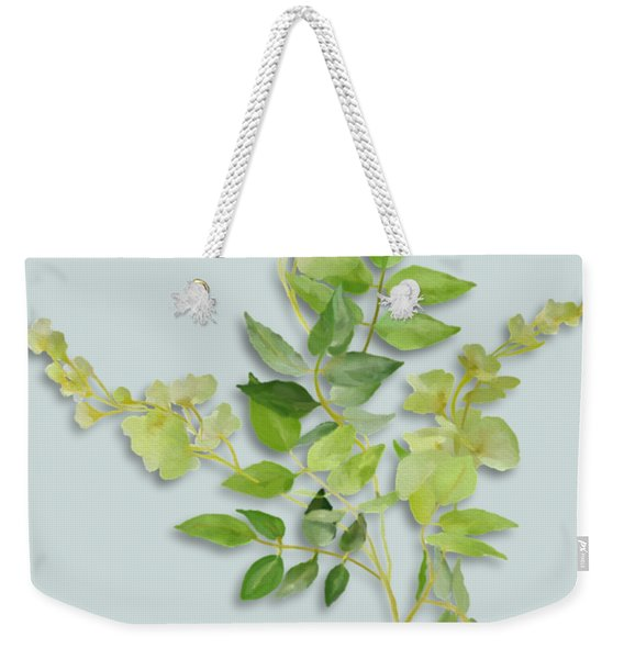 Yellow Tiny Flowers Weekender Tote Bag