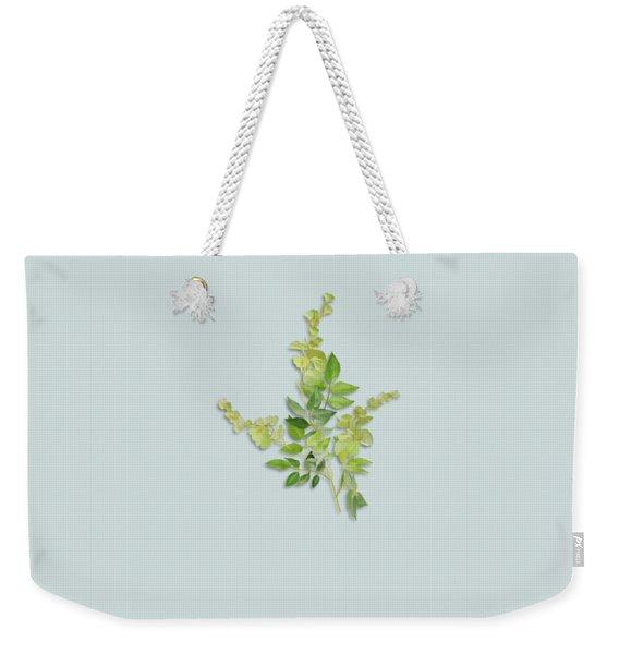 Yellow Tiny Flowers Weekender Tote Bag
