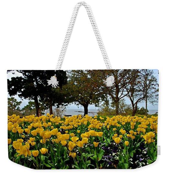 Yellow Tulips Of Fairhope Alabama Weekender Tote Bag