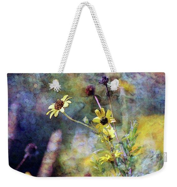 Yellow Wildflowers 3230 Idp_2 Weekender Tote Bag