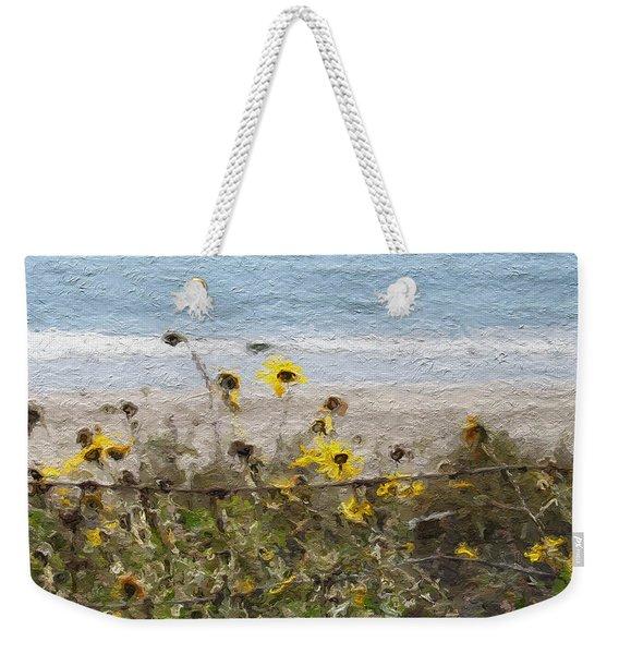 Yellow Wildflowers- Art By Linda Woods Weekender Tote Bag