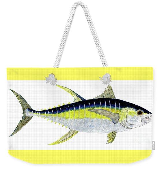 Yellowfin Tuna Weekender Tote Bag