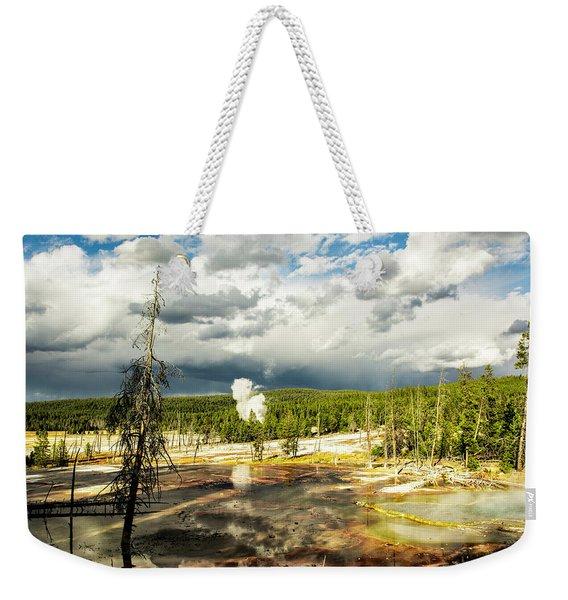 Yellowstone Colors #3 Weekender Tote Bag