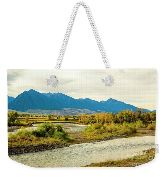 Yellowstone Morning Weekender Tote Bag