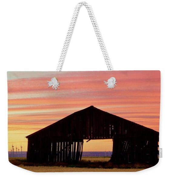Yesterday And Today At Sunset Weekender Tote Bag