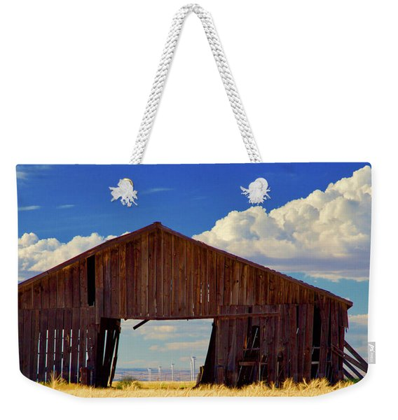 Yesterday And Today Weekender Tote Bag