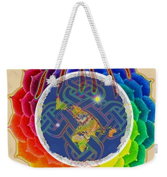 Yhwh Covers Earth Weekender Tote Bag