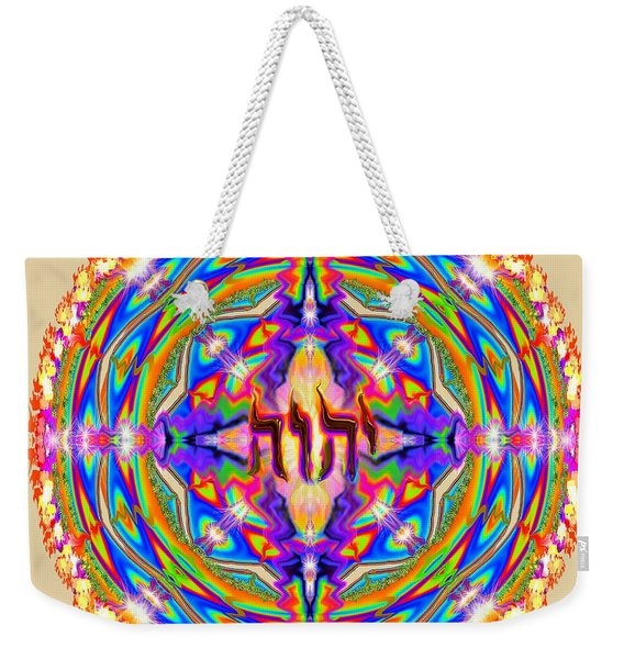 Yhwh Mandala 3 18 17 Weekender Tote Bag