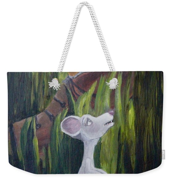 Yikes Mouse Weekender Tote Bag