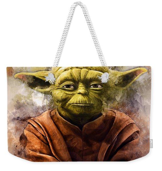Yoda Art Weekender Tote Bag