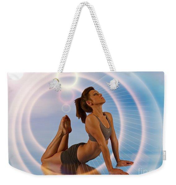 Yoga Girl 1209206 Weekender Tote Bag