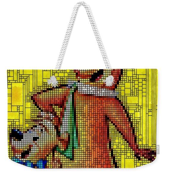 Yogi And Boo Boo Weekender Tote Bag