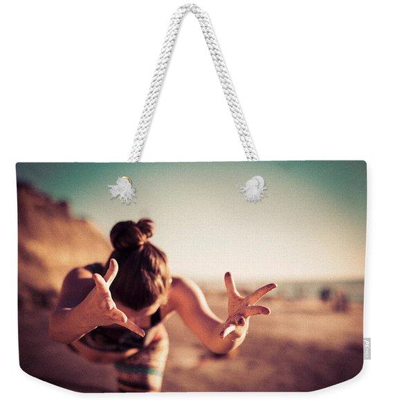 Yogic Gift Weekender Tote Bag