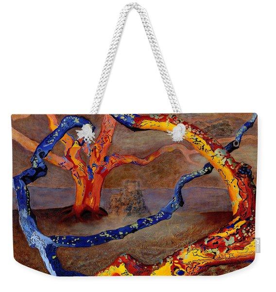 Yolande's Great Oak Weekender Tote Bag