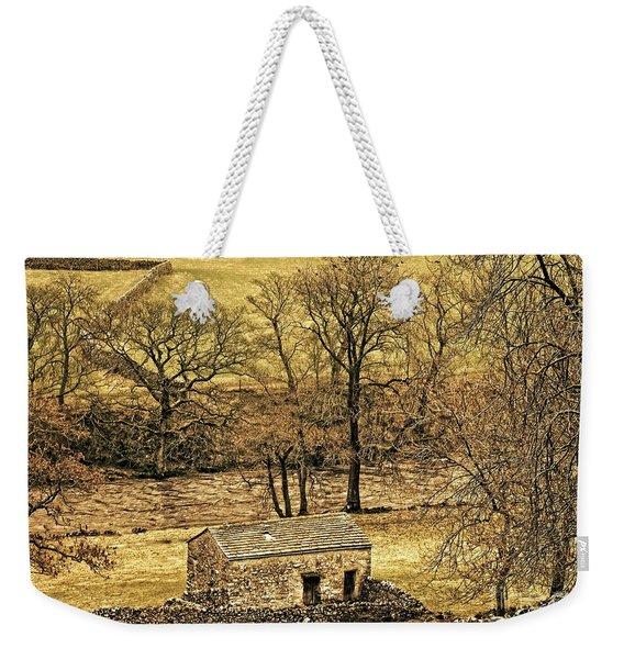 Yorkshire Dales Stone Barn Weekender Tote Bag