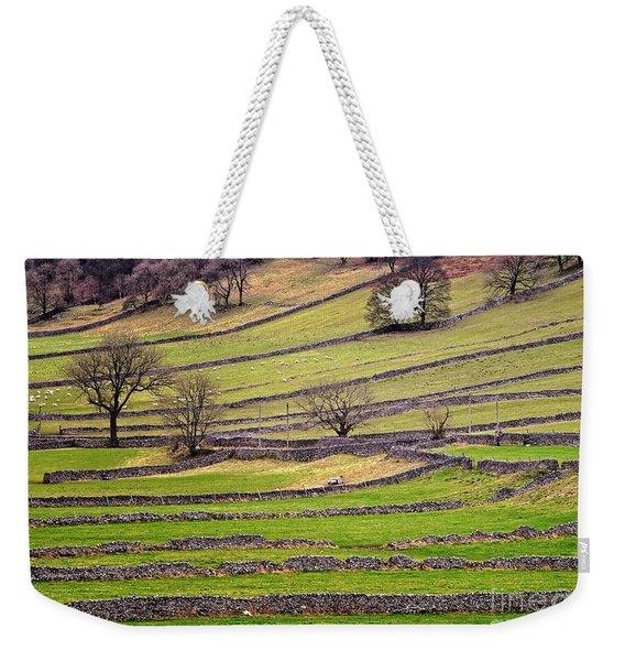 Yorkshire Dales Stone Walls Weekender Tote Bag