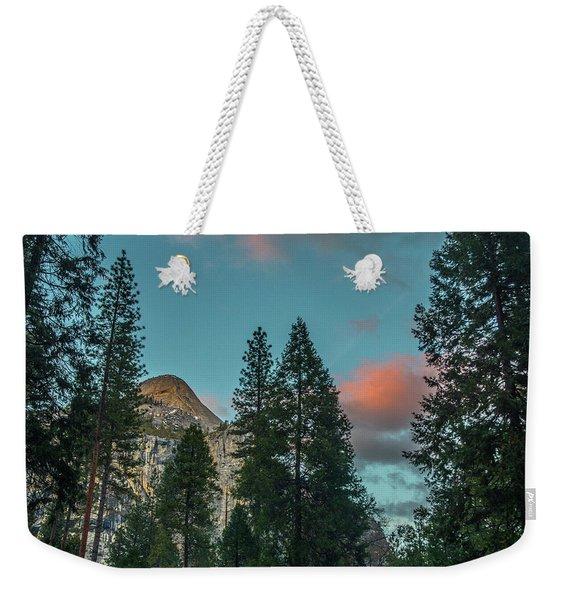 Yosemite Campside Evening Weekender Tote Bag