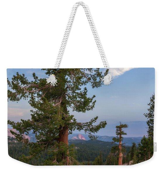 Half Dome From May Lake Weekender Tote Bag
