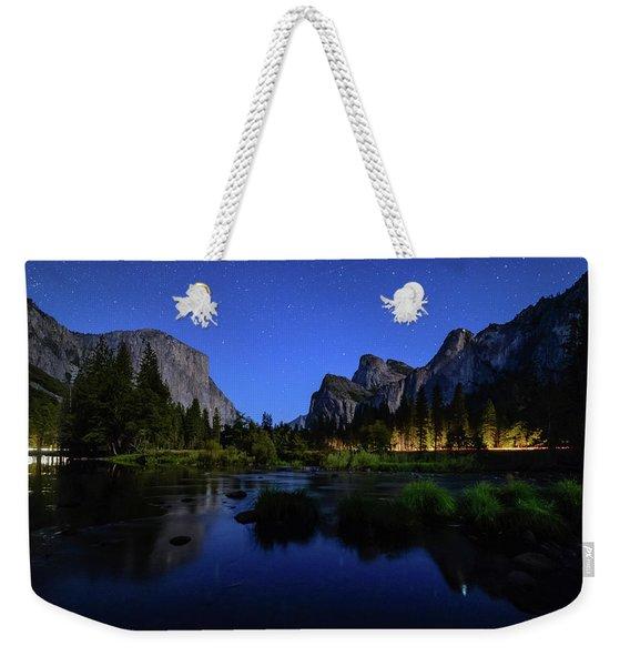 Yosemite Nights Weekender Tote Bag