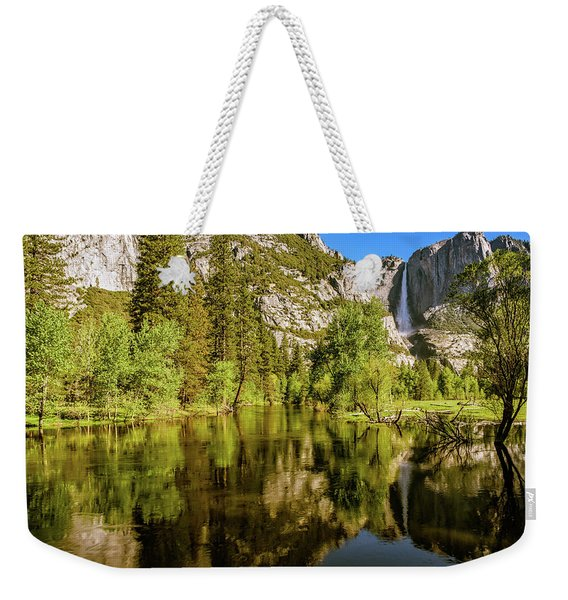 Yosemite Reflections On The Merced River Weekender Tote Bag