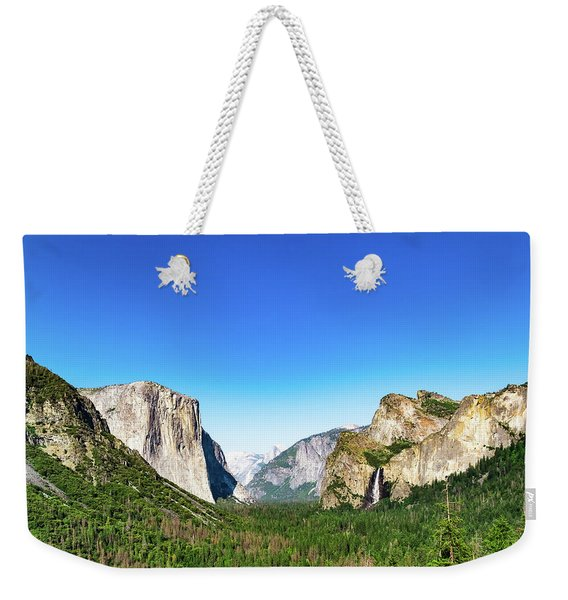 Yosemite Valley- Weekender Tote Bag