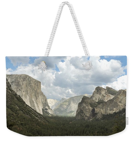 Yosemite Valley Yosemite National Park Weekender Tote Bag