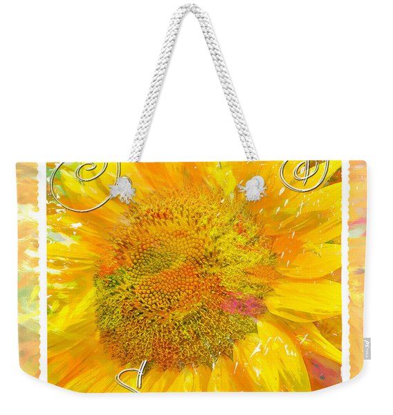 You Are My Sunshine 2 Weekender Tote Bag