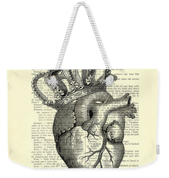 You Are The Queen Of My Heart Weekender Tote Bag