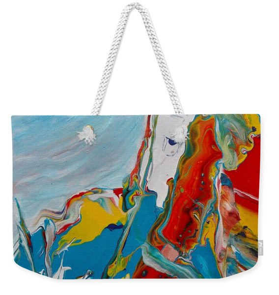 You Bring The Color Weekender Tote Bag