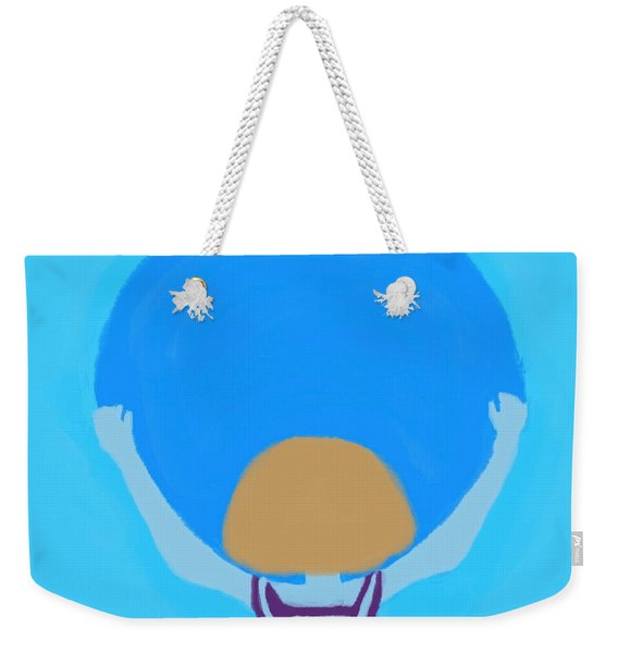 You Can Carry The Moon Weekender Tote Bag