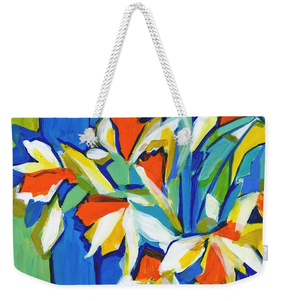 You Can Never Hold Back Spring Weekender Tote Bag