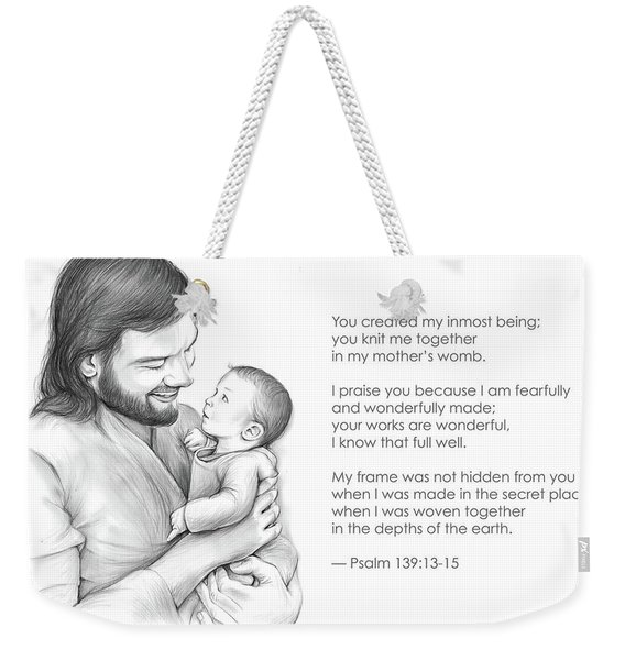 You Created Weekender Tote Bag