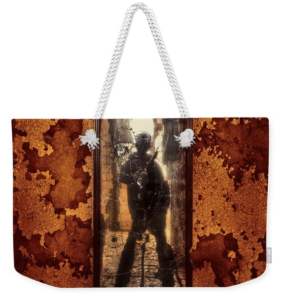 You Shot A Hole In My Soul Weekender Tote Bag
