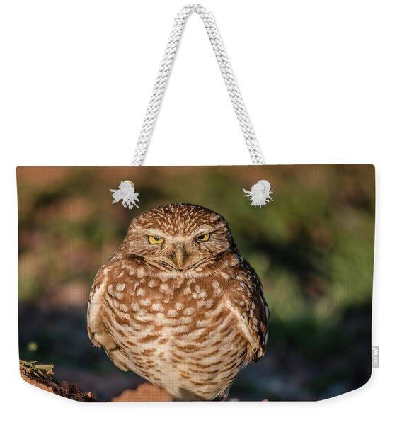 You Woke Me Up Weekender Tote Bag