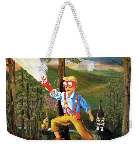Young Explorer Weekender Tote Bag