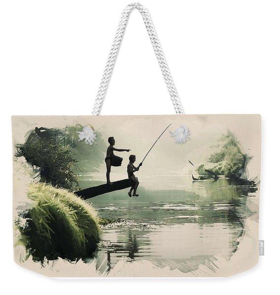 Young Fisherkids Weekender Tote Bag