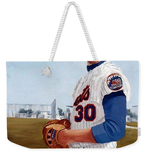 Young Nolan Ryan - With Mets Weekender Tote Bag