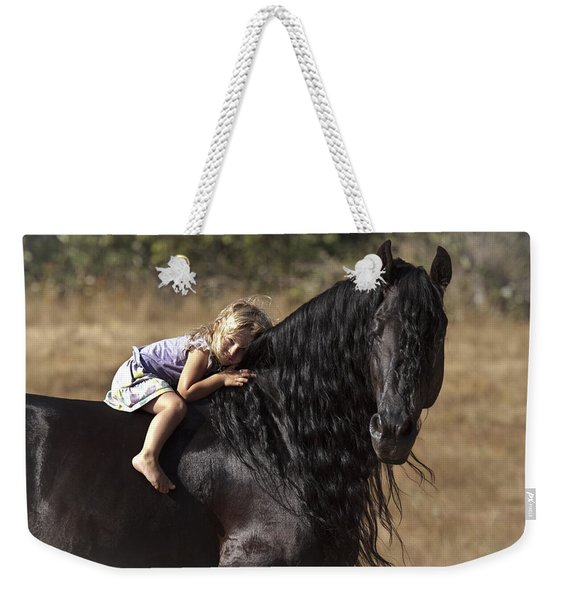 Young Rider Weekender Tote Bag