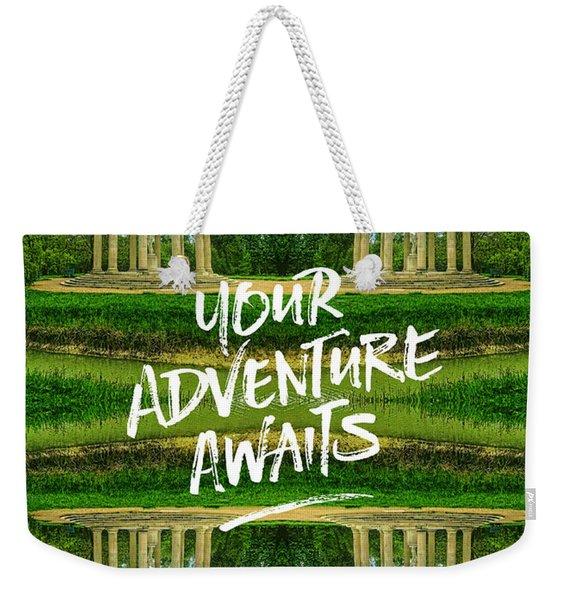 Your Adventure Awaits Temple Of Love Versailles Paris Weekender Tote Bag