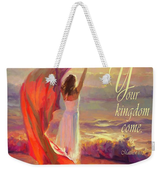 Your Kingdom Come Weekender Tote Bag
